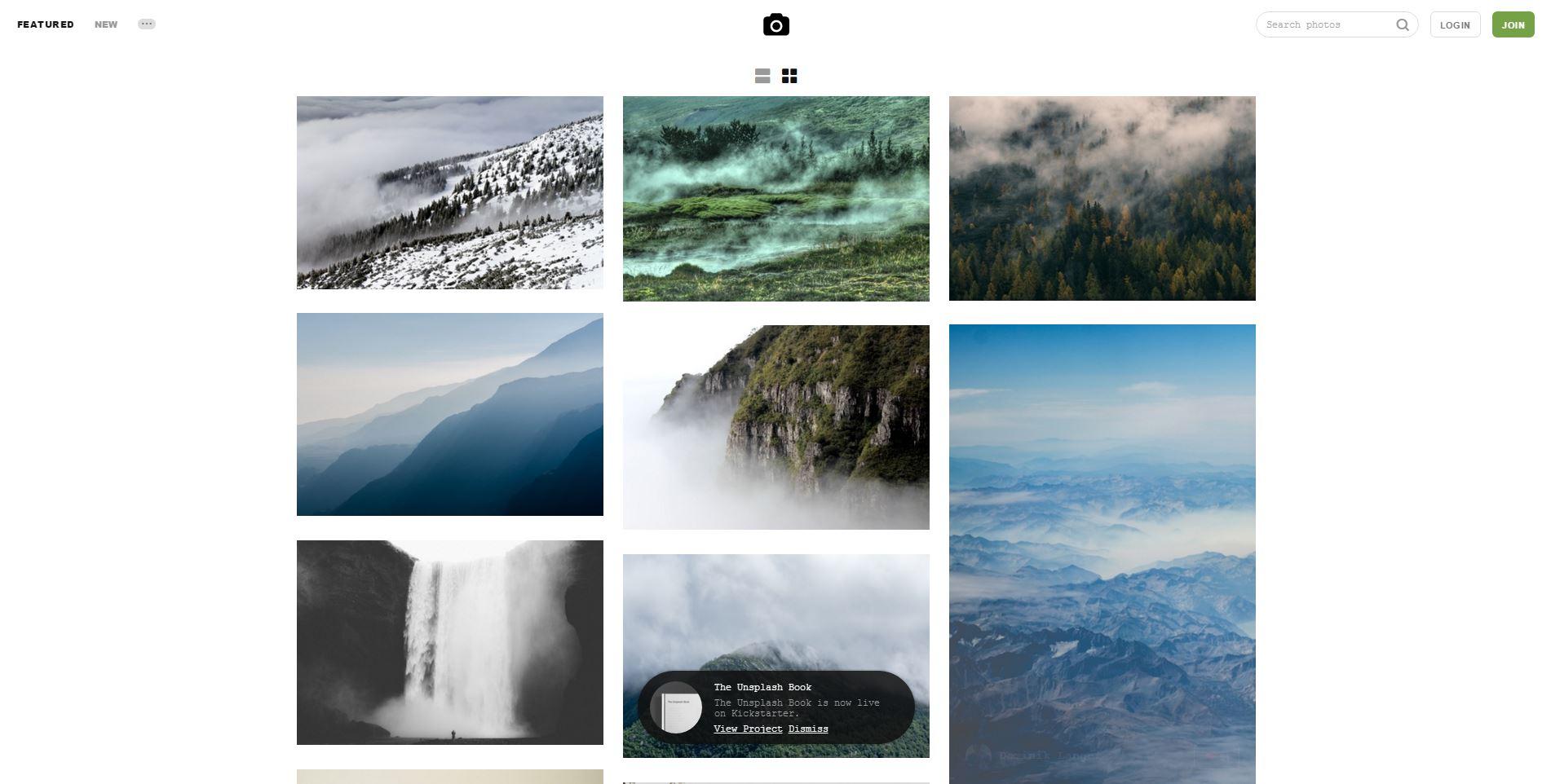 Cool Links - Unsplash Images
