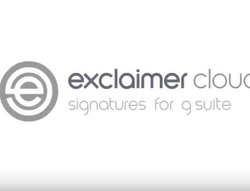 Exclaimer now Supports Gmail Domains for Signatures!